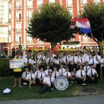 Lourdes - pred hotelom